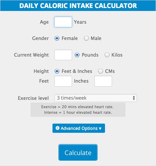 fat calorie calculator